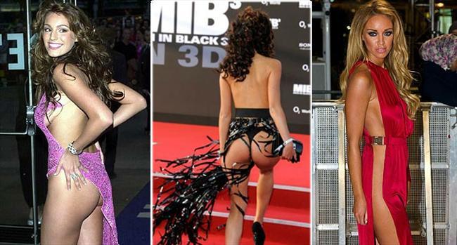 Konu film galaları olduğunda, aktris ve modellerin kendilerini daha görünür kılmak için yapmayacakları yok...