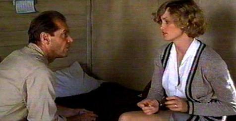 """Jack Nicholson (Filmin oyuncusu)  """"Aktör olarak güçlü bir yönüm olduğunu düşündüğüm cinselliği, şimdiye kadar ön plana çıkarmamıştım. Hayatımın en erotik performansını gerçekleştirmek istedim."""" Hatta Jack, Rafelson'a sahneyi tamamıyla uyarılmış bir şekilde çekmek istediğini söylüyor: """"Bu bambaşka bir şey olurdu... Ama yapamadım."""""""