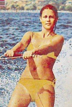 Deniz Yazıcı, 1967 Türkiye güzeli.