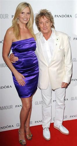Penny Lancaster ve Rod Stewart