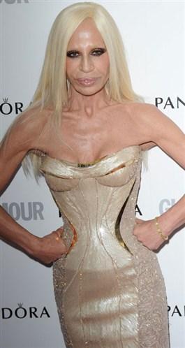 Donatella Versace-'En İyi Tasarımcı'