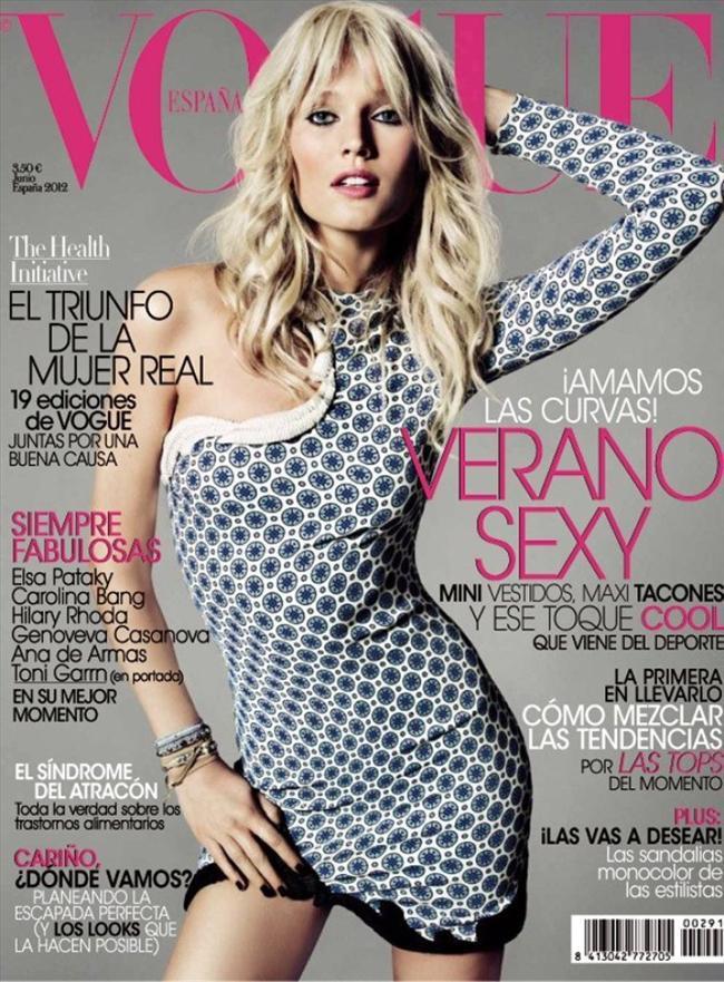 Vogue İspanya Haziran 2012 kapağı
