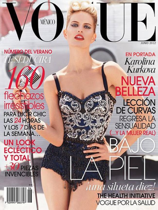 Vogue Meksika Haziran 2012 kapağı