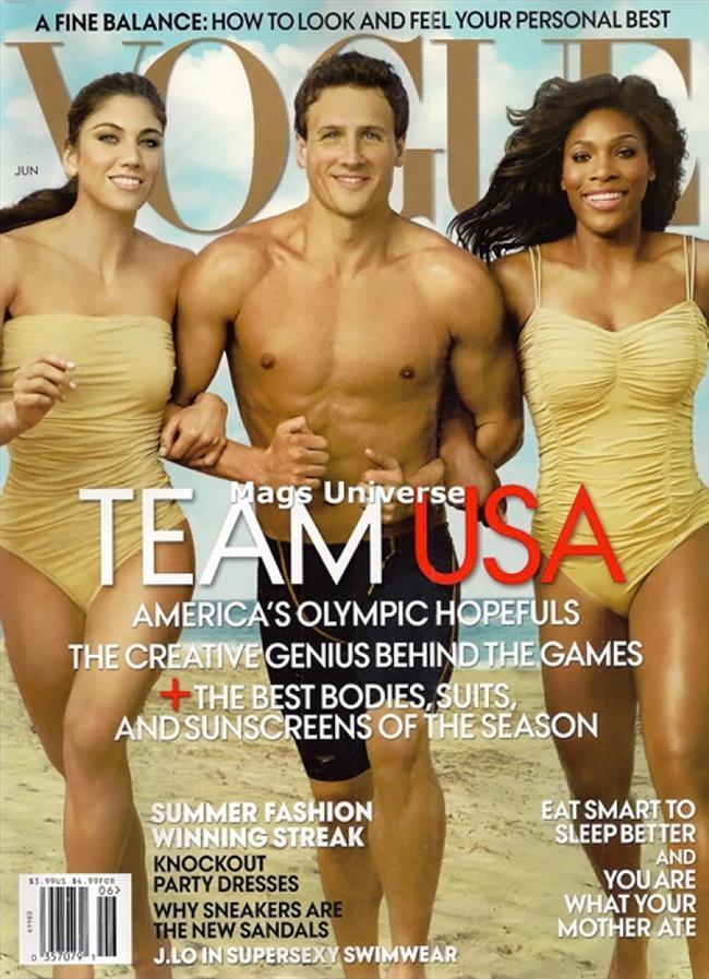 Vogue Amerika Haziran 2012 kapağı