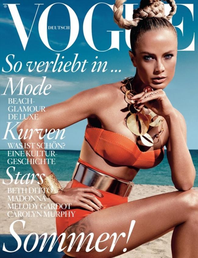 Vogue Almanya Haziran 2012 kapağı