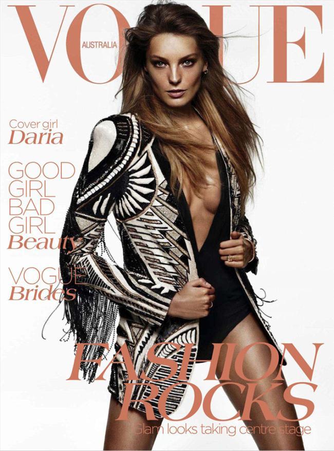 Vogue Autralia Haziran 2012 kapağı