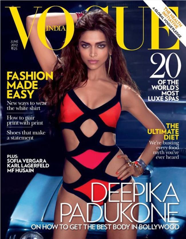 Vogue Hindistan Haziran 2012 kapağı