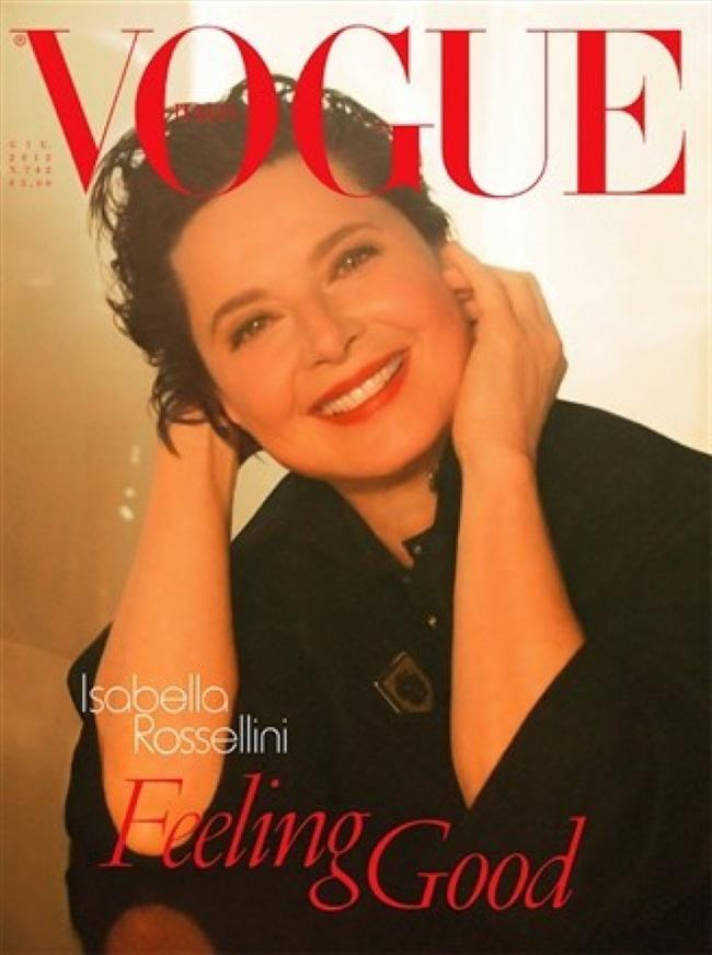 Vogue İtalya Haziran 2012 kapağı