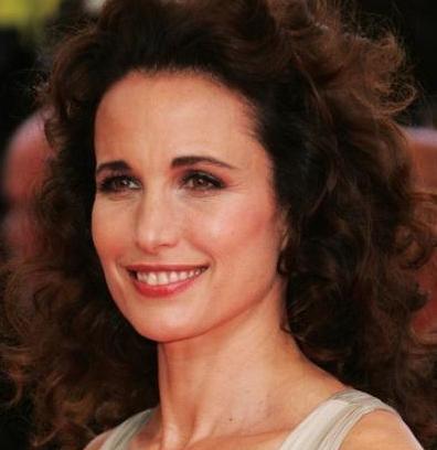 Andie McDowell, 1958 doğumlu.