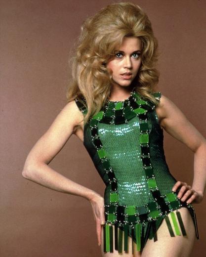 Fonda'nın gençlik yıllarından.