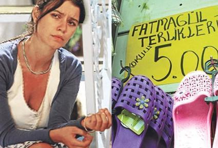 Bu arada bu dizi de daha önce örneklerine çok rastlandığı gibi kendi modasını yarattı. Fatmagül karakterinin köyde giydiği plastik terlikler pazarlarda ve marketlerde satılmaya başlandı. 5 TL'lik terlikler Fatmagül'ün adıyla anıldı.