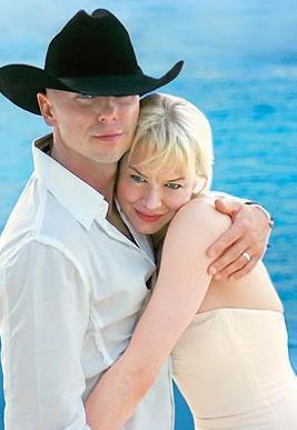 RENEE ZELLWEGER - KENNY CHESNEY: Ünlü oyuncu, country şarkıcısı Kenny ile Karayiplerde küçük bir törenle 2005'te evlendi. Evlilik sadece 4 ay sürdü.