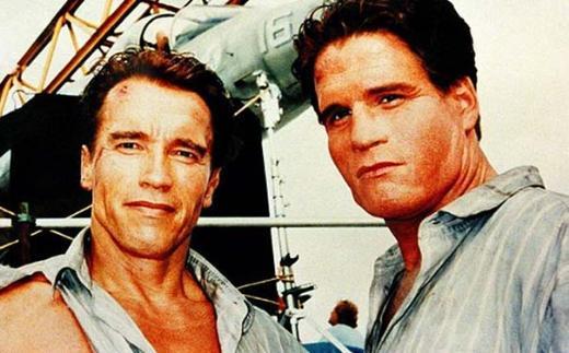 Arnold Schwarzenegger ile dublörü