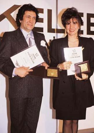 Barış Manço kariyeri boyunca çok sayıda Altın Kelebek kazandı.
