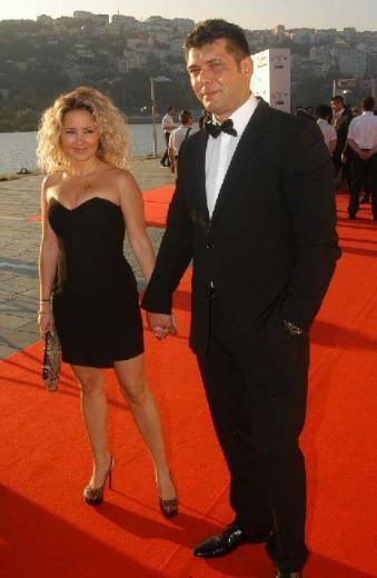 Pınar Aylin ve eşi