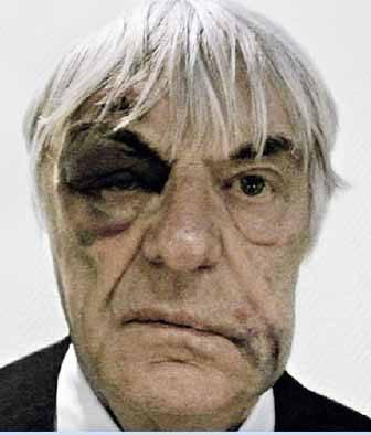 Formula 1 patronu Bernie Ecclestone, Londra'nın göbeğinde soyguncuların saldırısına uğradı.
