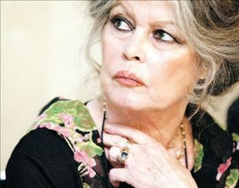 BRIGITTE BARDOT  Fransız sinema oyuncusu Brigitte Bardot, 1950'li ve 1960'lı yılların seks sembolü idi.