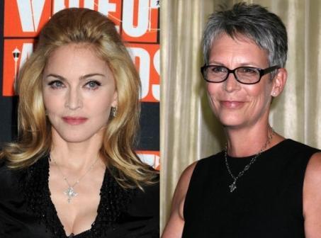 Madonna ve Jamie Lee Curtis  Her ikisi de 1958 doğumlu. Ama Madonna hem tıbbın olanaklarından yararlanıyor, hem de bir spor bağımlısı. Estetik operasyolara karşı olduğunu söyleyen Curtis ise kendini doğal yaşlanma sürecine bıraktı.