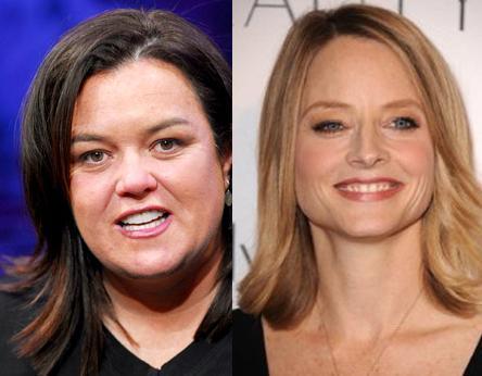 Rosie O'Donnell ve Jodie Foster İkisi de 1962'de dünyaya geldi. Ama Foster yaşıtından daha genç görünüyor.