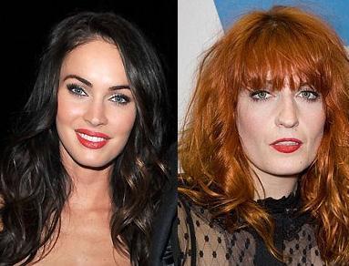 Megan Fox ve Florence Welch İkisi de 1986 yılında dünyaya geldi. Ama Welch, Fox'tan en az iki kat daha yaşlı görünüyor.