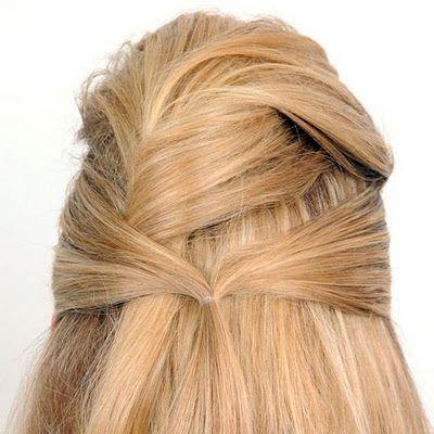 Saçlarınızın üst kısmı aynı bu fotoğraftaki gibi olmalı.