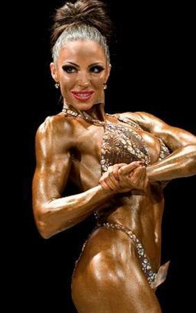 Çünkü Jodie Marsh, 2009 yılında verdiği bir kararla vücut geliştirme sporuna yöneldi.
