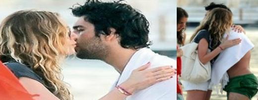 Türkiye'nin birbirine aşık oldukları gözlerinden bile anlaşılan çiftlerinden biri de Sinem Kobal ile Arda Turan.
