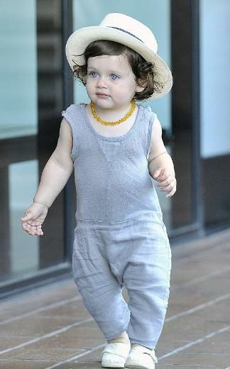 İşte son dönemde magazin sayfalarını en çok süsleyen bebeklerden bir Skyler Morrison Berman..
