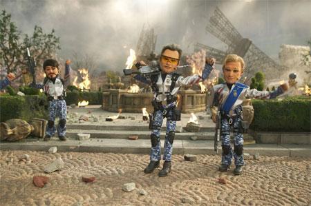 20. Team America: World Police/Amerikan Gücü: Dünya Polisi (2004) Yönetmen: Trey Parker Oyuncular: Trey Parker, Matt Stone, Kristen Miller