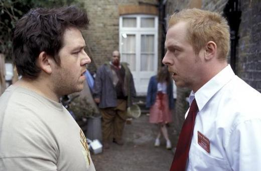 10. Shaun Of The Dead/Zombilerin Şafağı (2004) Yönetmen: Edgar Wright Oyuncular: Simon Pegg, Nick Frost, Kate Ashfield
