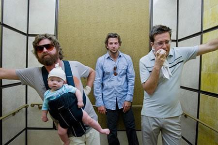 6. The Hangover/Felekten Bir Gece (2009) Yönetmen: Todd Phillips Oyuncular: Zach Galifianakis, Bradley Cooper, Justin Bartha