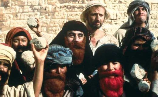 4. Life Of Brian/Brian'ın Hayatı (1979) Yönetmen: Terry Jones Oyuncular: Graham Chapman, John Cleese, Michael Palin