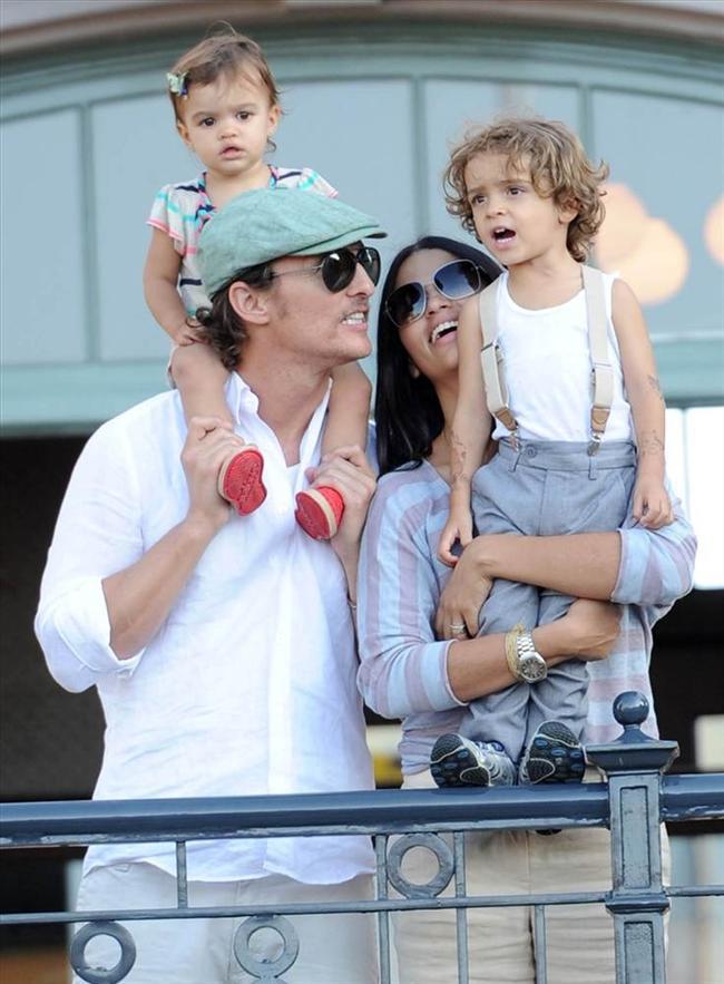 Matthew McConaughey kızı eli