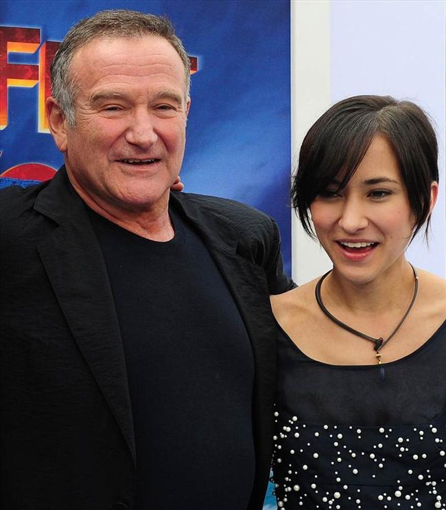 Robin Williams kızı zel