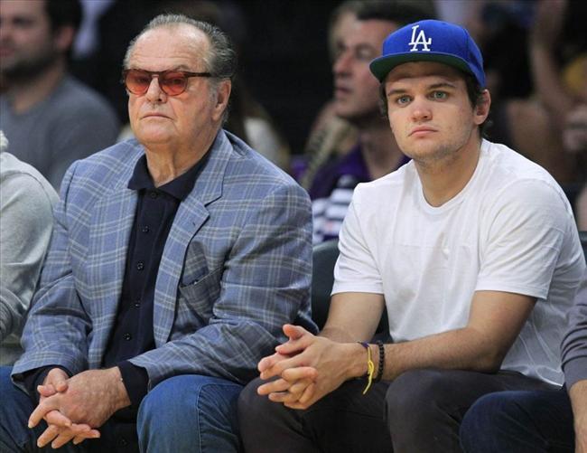 Jack Nicholson ve oğlu Raymond