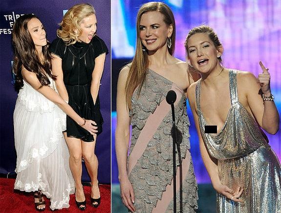 Jessica Alba, Kate Hudson, Nicole Kidman