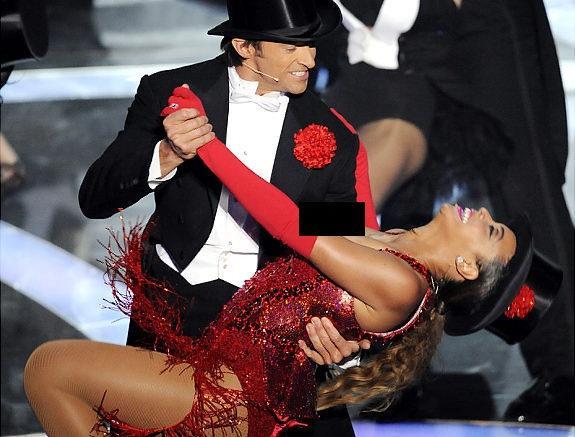 Hugh Jackman and Beyonce