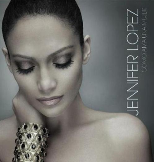 Jennifer Lopez ile Gündeş'in albüm kapağındaki duruşları bile aynı.