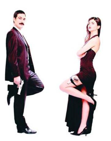 Tuba Büyüküstün ve o dönemde sevgilisi olan Bülent İnal, Bay ve Bayan Smith'in Türkiye şubesi olmuştu.