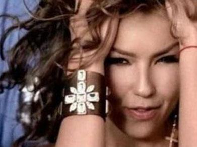 Thalia'nın albüm pozu..
