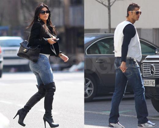 Ronaldo'nun kısa süreli flörtlerinden biri de Kim Kardashian oldu.