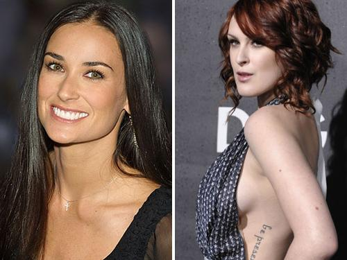 Demi Moore – Rumor Willis