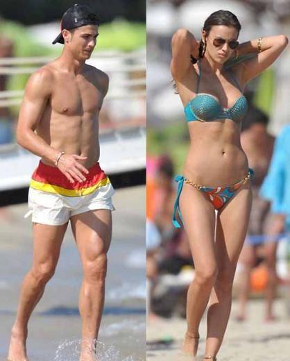 Bu arada her ikisi de kusursuz fiziksel görüntüleriyle dikkat çekiyor. Irina Shayk mesleğinin gereklerini özel hayatına da taşıyor deyim yerindeyse.