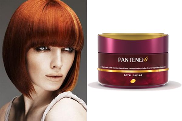 Boya görmüş saçların bakımı ayrı bir özen gerektiriyor. Aslında saçınızın renginin kuaförden çıktığınızdaki gibi kalması büyük ölçüde kullandığınız saç bakım ürünlerine bağlıdır. İşte sizelere boyalı saçlara özel saç bakım sırlarımız: Örneğin saçlarınızı boyadıktan sonra yıpranmalara karşı Pantene'nin 2 dakikada etkili boyadan kaynaklı yıpranmalara karşı koruyan yoğun onarıcı saç bakım maskesiyle saçlarınızın bakımını yapabilirsiniz.