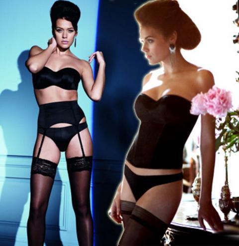 Sibiryalı ünlü model Natalie Belova, bir markanın iç çamaşırı bahar koleksiyonunu tanıttı.