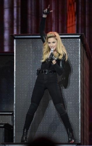 Madonna için en önemli nokta yepyeni tuvaletler kurulması.
