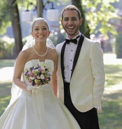 Kaya Akkaa da geçen hafta evlenen ünlülerden.