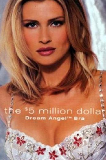 Daniela Pestova 1998 için tasarlanan sutyeni tanıtmıştı. Bunun değeri ise 5 milyon dolardı.