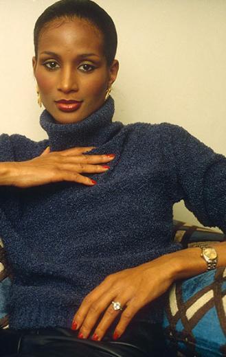 Beverly Johnson en parlak dönemini yaşadığı 1980'lerde.