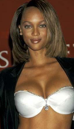 Tyra Banks'ın gençlik yıllarından.